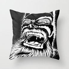 Too old for this job. Throw Pillow