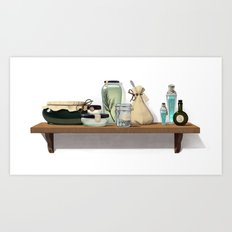 Potions and Poultices Art Print
