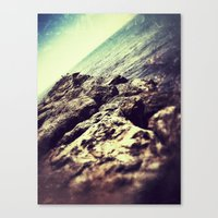 ROCKY ROAD FISH Canvas Print