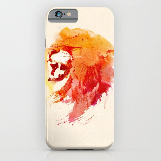 Angry Lion iPhone & iPod Case