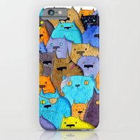 iPhone & iPod Case featuring The Cats Of Verdun by Tyson Bodnarchuk