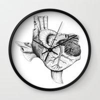 The Heart of Texas Wall Clock