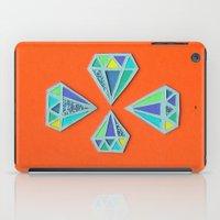 Diamonds Papercut iPad Case
