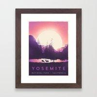 Yosemite — National Park Framed Art Print
