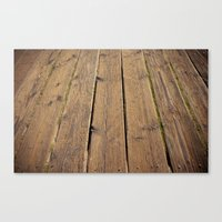 the wood Canvas Print
