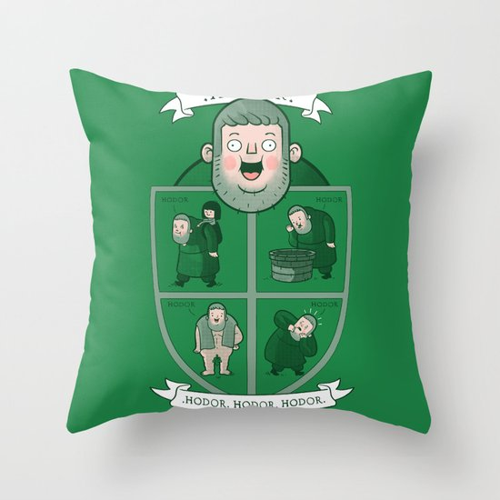 Hodor.  Throw Pillow