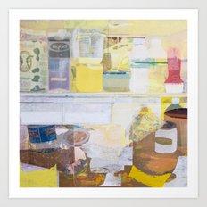Starving Artist (J.K) Art Print