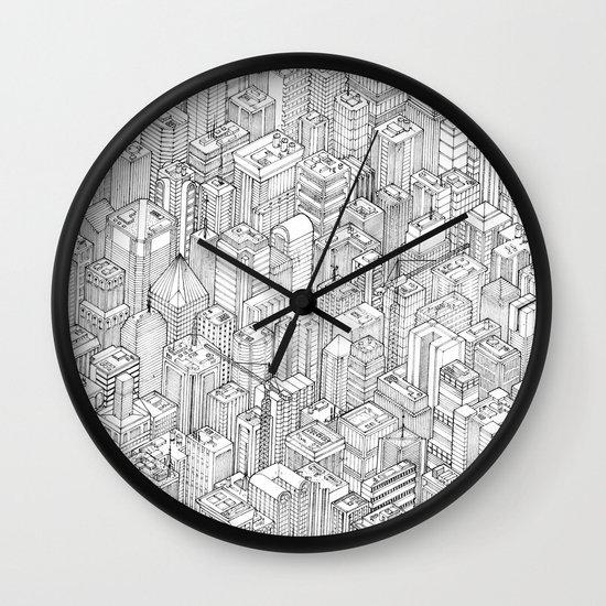 Isometric Urbanism pt.1 Wall Clock