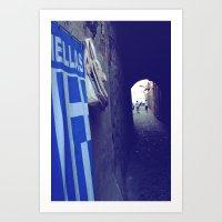 Hellas Art Print
