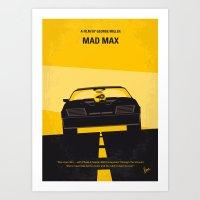 No051 My Mad Max 1 Minim… Art Print
