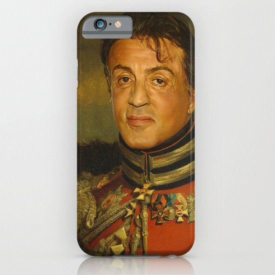 Sylvester Stallone - replaceface iPhone & iPod Case