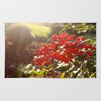 Red Berries Rug