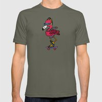 Party Pushin' Mens Fitted Tee Lieutenant SMALL
