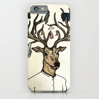 iPhone & iPod Case featuring Evicted deer by Fhil Navarro