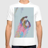 Falling Up Mens Fitted Tee White SMALL