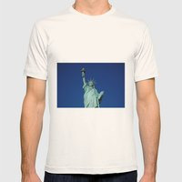 Liberty Mens Fitted Tee Natural SMALL
