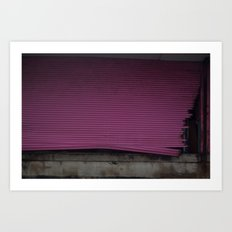 Pink Gate, After Sandy Art Print