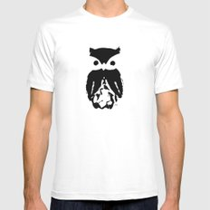 The Watcher White Mens Fitted Tee SMALL