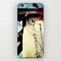 Sakura in the Spring, Kyoto iPhone & iPod Skin