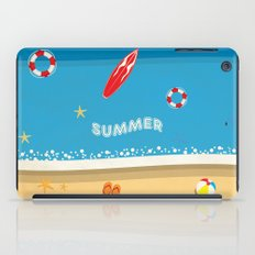 Summer Beach iPad Case