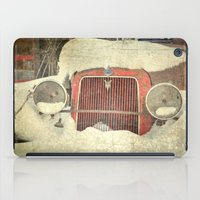 Ford In Winter iPad Case