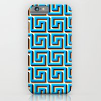 iPhone & iPod Case featuring Pixel Wave no.2 by athomahawk