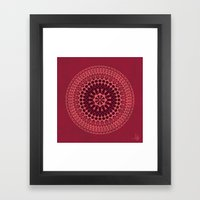 Arabesque Rosette 001 | … Framed Art Print