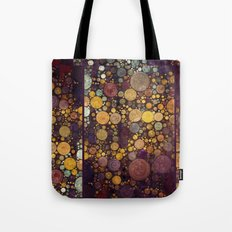 Enchanted Autumn -- Painterly Abstract Fall Color Magic Tote Bag