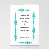 Romans 15:13 Stationery Cards
