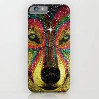 iPhone & iPod Case featuring MoonWolf  by Luna Portnoi
