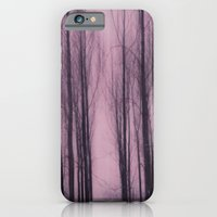 iPhone & iPod Case featuring Woods red by Lena Weiss