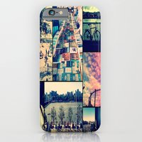 iPhone & iPod Case featuring London Collage by Tal Bright