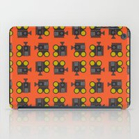 Camera 01 Pattern iPad Case