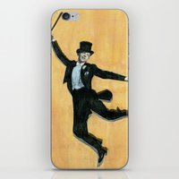 top hat and tails iPhone & iPod Skin