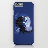 iPhone Cases featuring Starwars with Unicorns  by Jonah Block