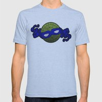 the blue turtle Mens Fitted Tee Athletic Blue SMALL