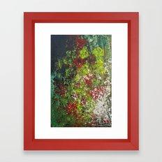 Walking Through the Garden  Framed Art Print