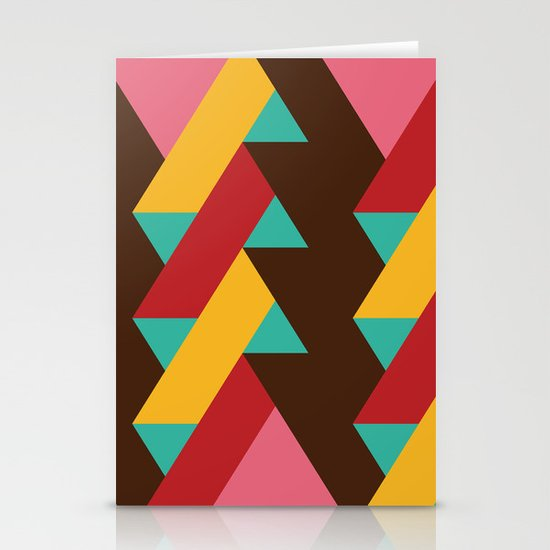 Ribbon Pattern 2 Stationery Card