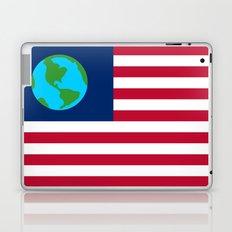 Old Freebie - Earth's Flag Laptop & iPad Skin