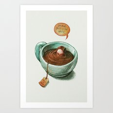 Introvertea Art Print