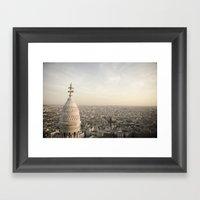 Sacre Coeur - Paris  Framed Art Print