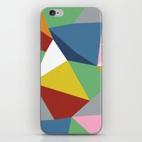 Abstraction Zoom iPhone & iPod Skin
