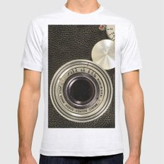 Vintage Argus camera Mens Fitted Tee Ash Grey SMALL