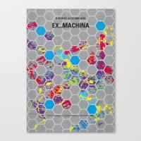 No537 My Ex Machina Mini… Canvas Print