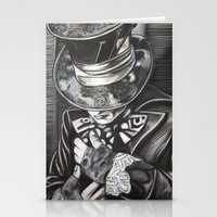 THE MAD HATTER II Stationery Cards