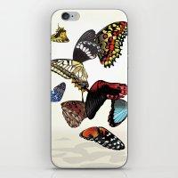 Butterfly Wings iPhone & iPod Skin