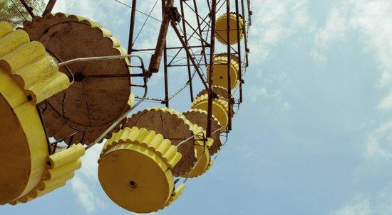 Chernobyl - колесо огляду Art Print