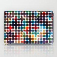 Rope Geometric Art Print. iPad Case