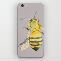 Bee No. 2x2 iPhone & iPod Skin