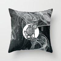 The Plague Throw Pillow